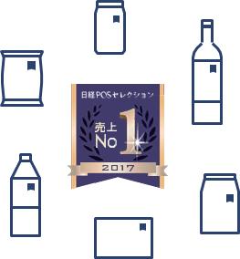 2017年 日経POSセレクション売上No.1 決定!